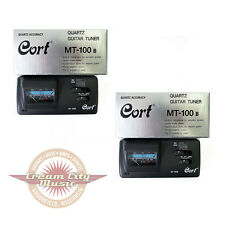 2 x Cort Electronic Analog Tuners works for Violin, Mandolin & Cello! Mt100B