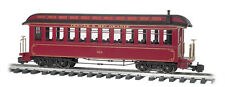 Bachmann 97206 D&RGW Coach With Full Interior, Lighted, Metal Wheels NEW