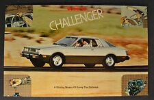 1979 Dodge Challenger Postcard Sales Brochure Excellent Original 79