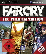 PlayStation 3 juego: far cry Wild Expeditions ps-3 1-3 + todos te addons nuevo & OVP