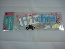 """Jolee's Boutique Title Waves """"Hitched"""" Wedding - 14 pcs Dimensional Stickers"""