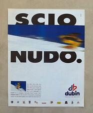 E692 - Advertising Pubblicità -1996- DUBIN , FUNZIONE ED EMOZIONE