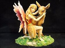 MYSTICALLS MYSTICAL MAYER CHESS FAIRY FIGURINE DEER FAWN MC0071 GERMANY SAMPLE