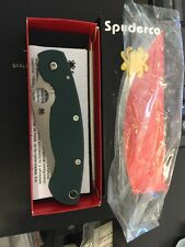 Spyderco Military Sprint Cts 204p Green C36gpgrn Folding Knife