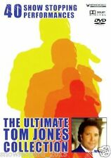 TOM JONES 40 SHOW STOPPING ULTIMATE PERFORMANCES HITS DVD New Sealed UK Release