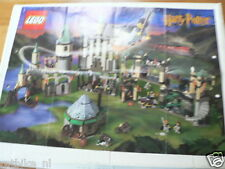 LEGO BROCHURE FLYER CATALOG TOYS 2001 HARRY POTTER DUTCH 4 PAGES 112