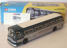 Corgi Greyhound Lines Fishbowl Bus NICE (see photos) 9""