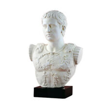 Augustus Primaporta Roman Emperor sculpture BUST Museum Replica Reproduction