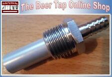 "1/2"" NPT Inline Carbonation Aeration Diffusion Oxygen Stone 0.5 Micron Homebrew"
