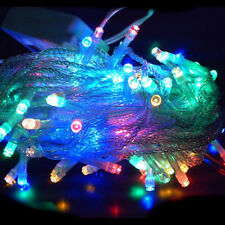 40 LED Fairy Christmas Haloween Wedding Lights 4m RGBY Mix & Battery Operated