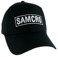 SAMCRO Sons of Anarchy Motorcycle Club Redwood Original Hat Baseball Cap Biker