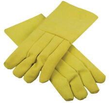 "14"" KEVLAR CRUCIBLE GLOVES HIGH TEMPERATURE HEAT RESISTANT FURNACE MELTING GLOVE"