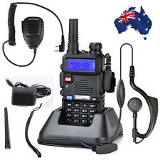 UV-5R BAOFENG Dual Band UHF/VHF FM Two-Way Radio + Handheld Speaker Microphone