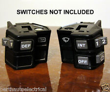 NEW VL WINDOW WIPER AND DEFOG SWITCH DECALS KIT GMH HOLDEN COMMODORE HDT BROCK