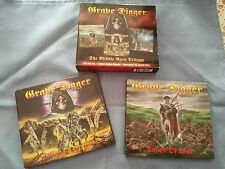 GRAVE DIGGER THE MIDDLE AGES TRILOGY CD BMG EU EDITION 2 CD DIGIPACK SPECIAL ED