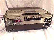 Vintage Sony VCR Model SL-8600 Beta Betamax VCR