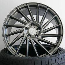 """4x 19"""" 8,5x19 ET45 Keskin KT17 PP Grau Alufelgen für VW Golf 5 Typ 1K auch GTI"""