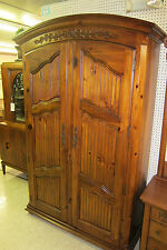 "THOMASVILLE BAR ARMOIRE LOTS OF STORAGE 81 1/2"" TALL X 47 1/2"" WIDE X 18"" DEEP"