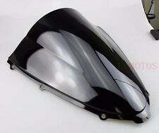 ABS BLACK DB WINDSCREEN WINDSHIELD FOR 2006-2013 Kawasaki Ninja ZX-14R ZZR1400