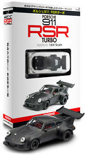 [KYOSHO 1/64] Porsche 911 RSR Turbo Matte Black Minicar Collection Special Vol.2