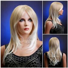 Female Glamorous Blond Wig Mannequin Head Hair Wigs/Synthetic /Classic Cap