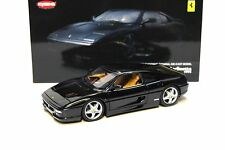 1:18 Kyosho Ferrari F355 Berlinetta nero High-End NEW per PREMIUM MODELCARS