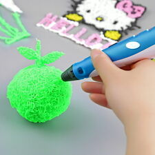 3D Printing Drawing Pen Crafting Modeling ABS Filament Arts Printer Tool Gift @