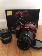 Nikon D D5500 24.2 MP Digital SLR Camera - Red