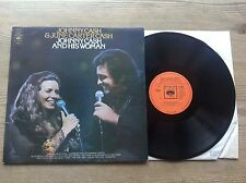 JOHNNY CASH & JUNE CARTER CASH JOHNNY CASH & HIS WOMAN 1973 UK CBS LP*NEAR MINT