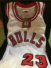 AUTHENTIC Mitchell and Ness 1984 Home Bulls Michael Jordan Rookie Jersey #862