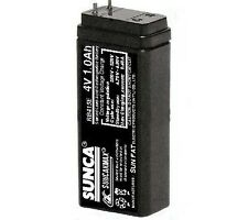 SUNCA 4v 1000mAh(1.0Ah) Rechargeable SMF Sealed Led Acid Battery for DIY project
