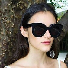 NEW Celine Marta CL 41093/S Black Oversized Cat Eye Sunglasses AUTHENTIC