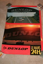 1991 Dunlop 24 Hours of Le Mans Race Day Promo heavy stock poster
