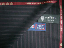 "DORMEUIL ""ROYAL OPERA"" WOOL,SILK,CASHMERE SUITING FABRIC 3.4 m. - MADE IN ENGLAN"