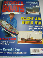 MODEL BOATS FEBRUARY 1997 552 WACHT AM RHEIN VIII REBECCA BRUMSTEAD THE TOAD
