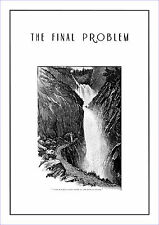 "Sherlock Holmes in "" The Final Problem "" poster by Sidney Paget 1893"