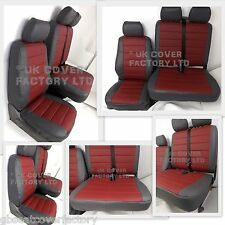 NISSAN PRIMASTAR VAN SEAT COVERS MADE TO MEASURE QUILTED  PVC LEATHER  A120J