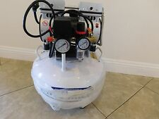 Used  Ultra Quiet 3/4HP Medical Dental Oil Free Air Compressor