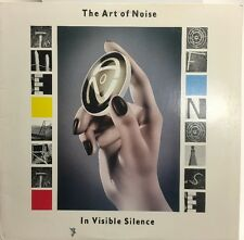 The Art Of Noise In Visible Silence Lp Record Ex+ FV41528 Chrysalis Records