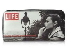 Audrey Hepburn Life Magazine Cover Money Coin ID Holder Clutch Wallet Purse Bag