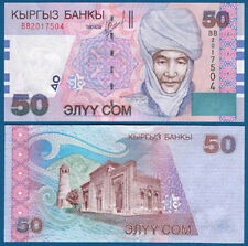 KIRGISIEN / KYRGYZSTAN  50 Som (2002) UNC  P. 20