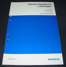 Werkstatthandbuch Volvo Lastwagen LKW  Typ FL12 LHD Schaltpläne Sprachausgabe!