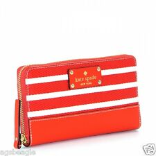 Kate Spade Wallet Wellesley Fabric Neda Empire Red Agsbeagle