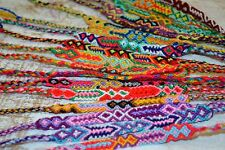 FRIENDSHIP BRACELETS Woven Wholesale Of 35 Wristbands Handmade Fair Trade Gifts