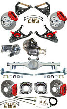 NEW SUSPENSION & WILWOOD BRAKE SET,CURRIE REAR END,CONTROL ARMS,POSI GEAR,687232