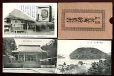 Japan JAPANESE SCENES Black & White 5 PPCs unknown location Original Envelope