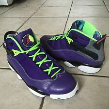 Nike Air Jordan 6 Rings Bel Air Court Purple Shoes 322992-515 Sz 11