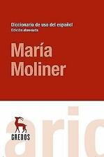 Diccionario del uso del español. Edicion abreviada (Spanish Edition)