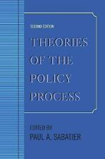 Theories of the Policy Process, Second Edition by Paul A Sabatier