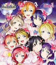 M'S-LOVE LIVE! M'S FINAL LOVELIVE!- M'SIC FOREVER DAY1-JAPAN 3 Blu-ray W63